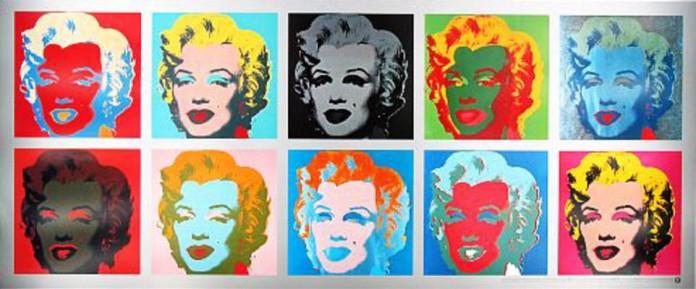 Pop Art Marilyn Monroe by Andy Warhol