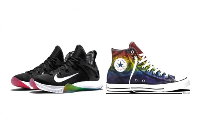 e42a95fa11aa Nike and Converse are preparing to celebrate USA Pride month with an all new  range of footwear to make any pride marcher stand out from the crowd.
