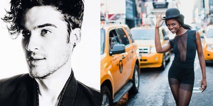 Billy Lewis Jnr & Samantha Marie Ware - two of the stars performing at the LGBTQ Concert on 24 Aug