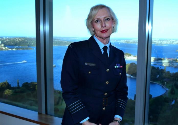 Group Captain Catherine McGregor