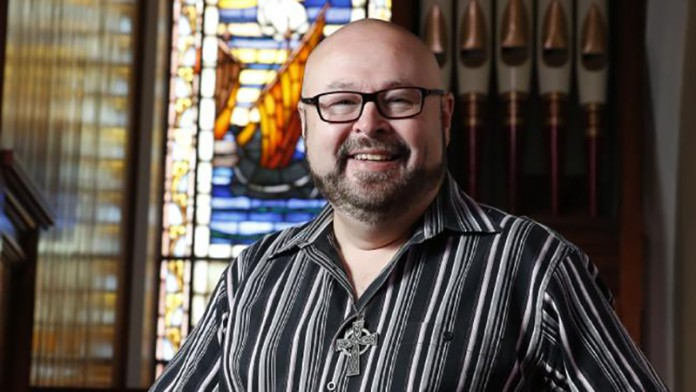 Darren Liepold, the new minister at the Uniting Church at Neutral Bay. Picture: David Swift The Mosman Daily