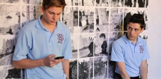 James Ritchie as Ethan (L) and Aiden Debono as Ben in the Subject to Change pilot. PR Image / Subject to Change