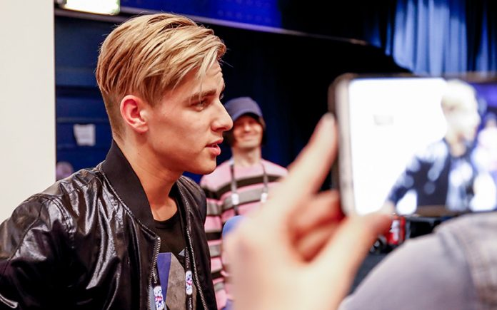 Eurovision 2016 - Donny Montell, Lithuania - Photo: Andres Putting (Eurovision 2016)