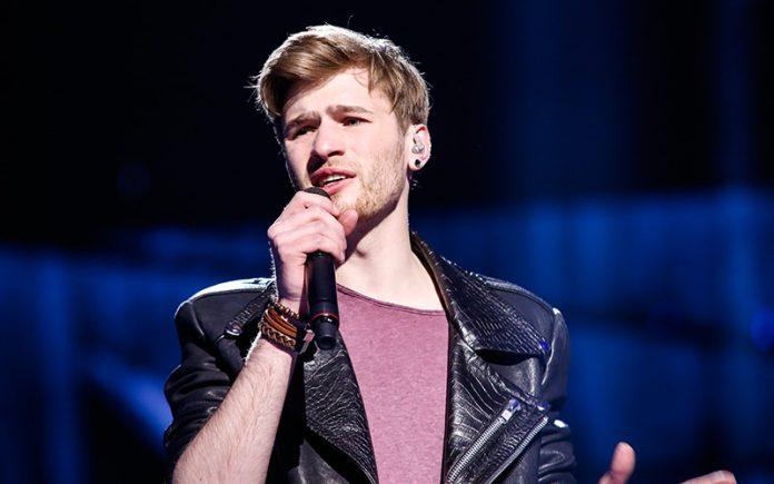 Eurovision 2016 - Justs, Latvia - Photo: Thomas Hanses (EBU)