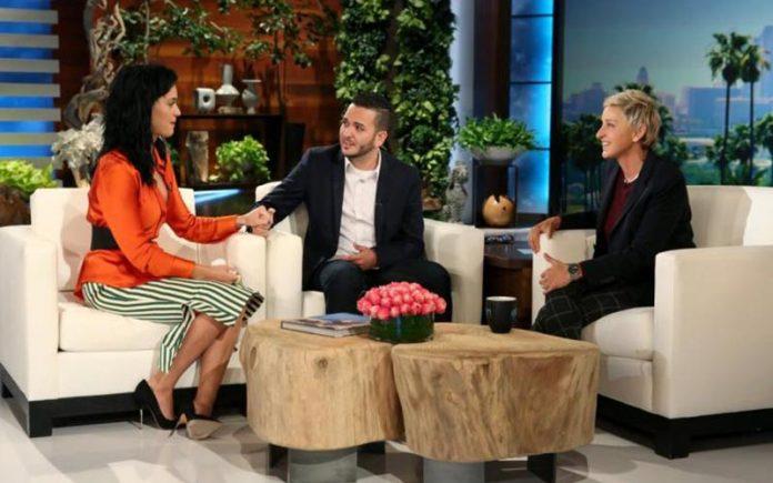 Katy Perry, Tony Marrero & Ellen (Youtube)