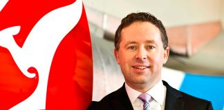 Alan Joyce CEO of QANTAS