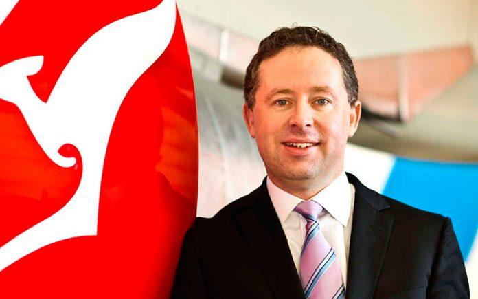 Alan Joyce CEO of QANTAS