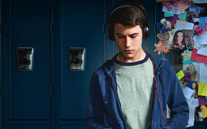 Dylan Minnette (Clay) in 13 Reasons Why (Netflix)