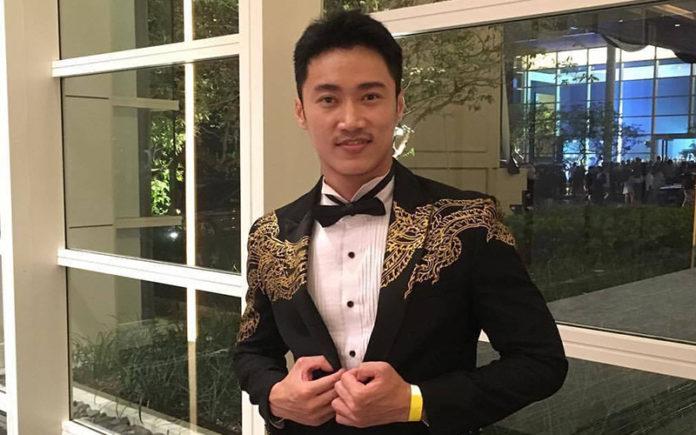 Mr Gay Thailand Pattanajuk Vipadakul (Supplied)