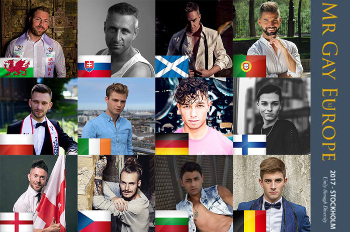 Mr Gay Europe 2017 Delegates