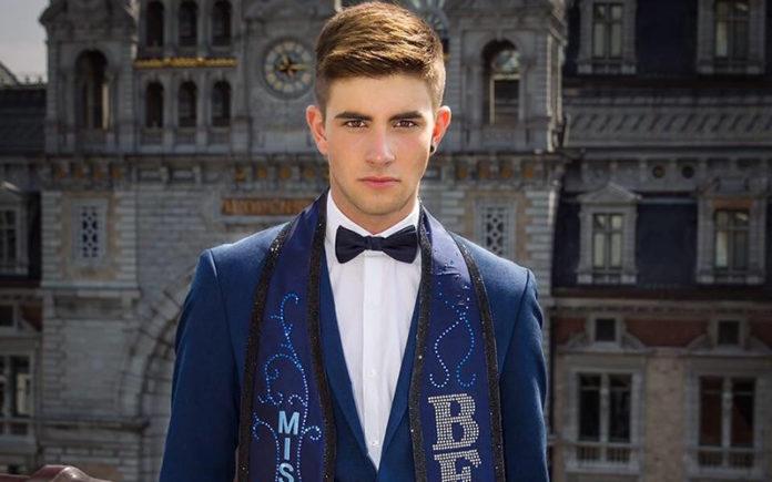 Jaimie Deblieck - Mr Gay Belgium 2017 (Instagram)