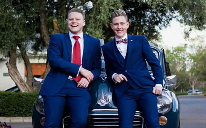 Ryan Nortje & Joshua Harper (Facebook: Ryan Nortje)
