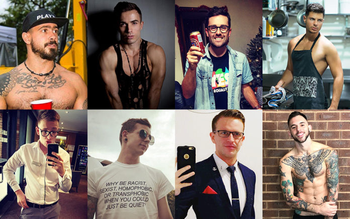 Mr Gay Pride Australia Finalists 2018