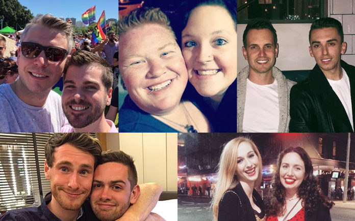 Australia's First Legal Gay Wedding Competition Finalists