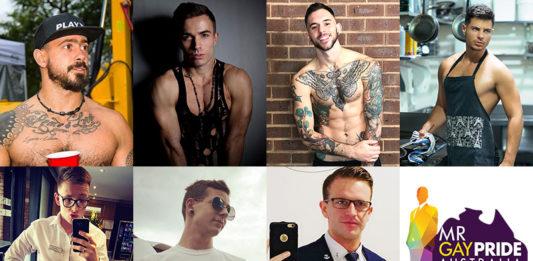2018 Mr Gay Pride Australia Finalists