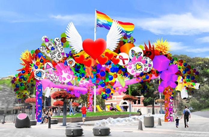 Sydney Mardi Gras Installation