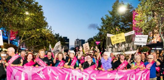 78ers at Sydney Mardi Gras 2018 - Photos by Jeffrey Feng Photography.