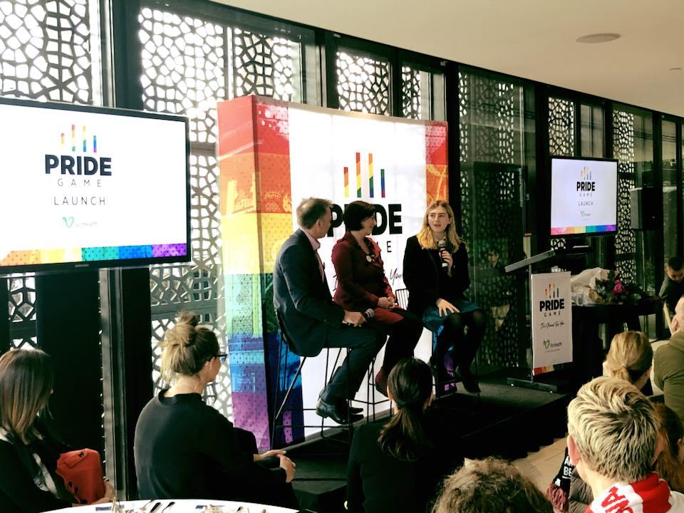 AFL Pride Match Launch (GLOBE Facebook)