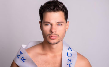 Jordan Bruno, Mr Gay Pride Australia, prepares for Mr Gay World in South Africa - Daniel Enright Photography