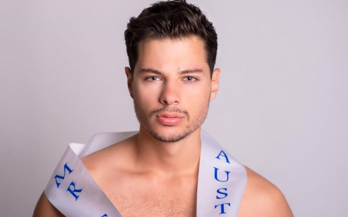 Jordan Bruno, Mr Gay Pride Australia, prepares for Mr Gay World in South Africa - Daniel Enright Photography