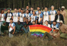 Mr Gay World 2018 delegates at Knysna Elephant Park, South Africa (Gerhard Meiring Photography - Facebook)