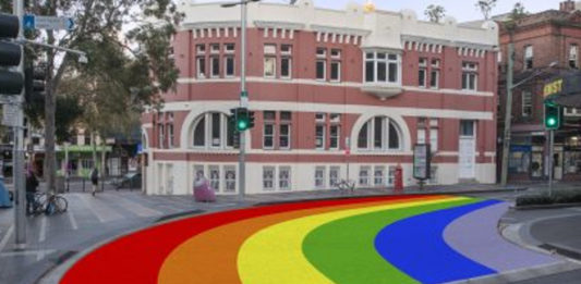 Proposed Rainbow Crossing for Sydney's Taylor Square - (Supplied-City of Sydney)