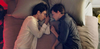 Theodore Pellerin stars as Xavier€ and Lucas Hedges stars as Jared€ in Joel Edgerton's BOY ERASED, a Focus Features release.
