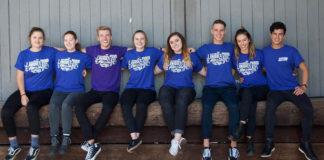 Some of the Wear it Purple team preparing for Wear it Purple Day on Friday 31 August - (Instagram)