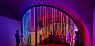 Full Spectrum by Flynn Talbot at London Design Biennale (Photo by Mark Cocksedge - Instagram)