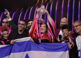 Netta winning for Israel at Eurovision 2018