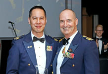 Vince Chong (President DEFGLIS) & Mel Hupfield (Chief of Joint Operations)