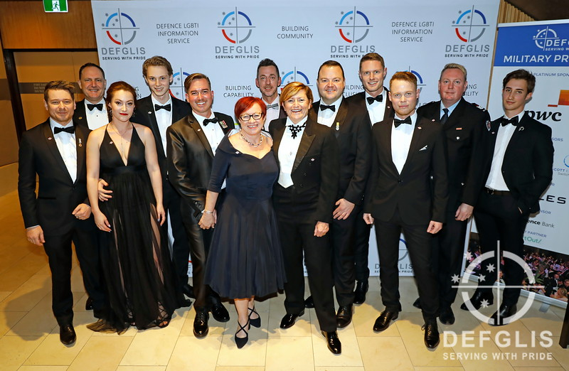 DEFGLIS Military Ball guests. Photos by Ann-Marie Calilhanna (c) Copyright DEFGLIS Defence LGBTI Information Service Incorporated