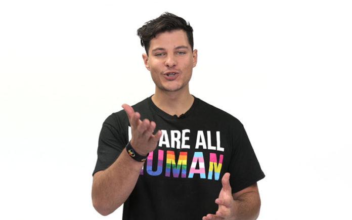 Mr Gay World 2018 Jordan Bruno (Youtube)