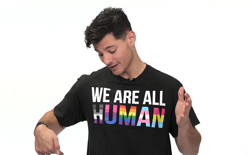 Mr Gay World 2018 Jordan Bruno (Youtube) Bottom Shaming