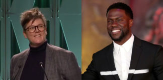 Hannah Gadsby and Kevin Hart