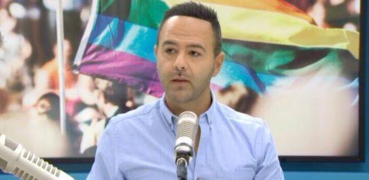 Aziz Al Sa'afin appearing on The AM Show on Tuesday morning (NewsHub)