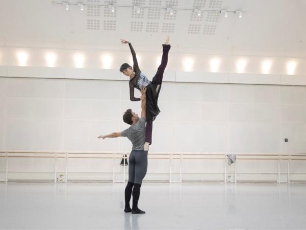 Australia's Alexander Campbell and Akane Takada in the Don Quixote Ballet