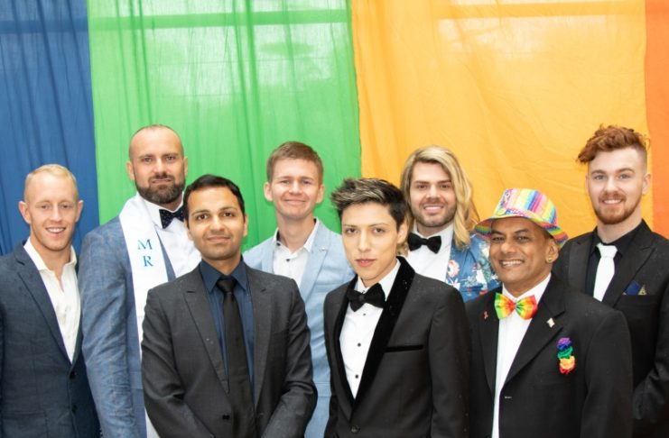 Mr Gay Pride Australia finalists 2019 - Photo by Fred Lemarche (The Boy Project)