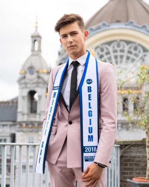 Nick Van Vooren - Firstrunner-up Mr Gay Belgium 2018 (Instagram)