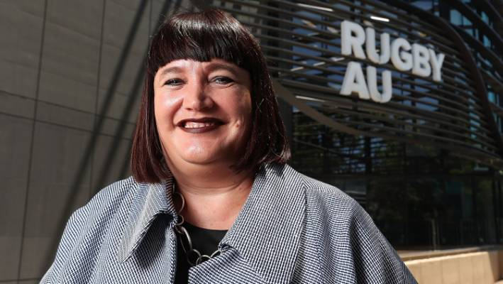 Australian Rugby chief Raelene Castle