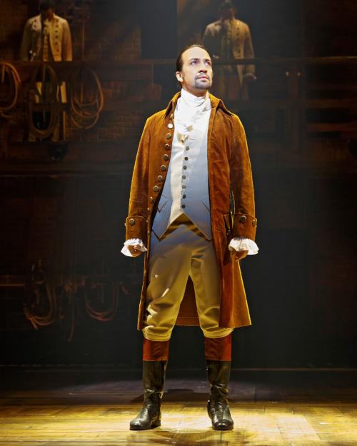 Lin-Manuel Miranda as Alexander Hamilton - (c) credit Joan Marcus (Supplied)