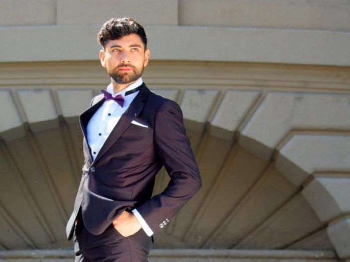 Mr Gay Chile 2019 Carlos Navarro (Supplied)