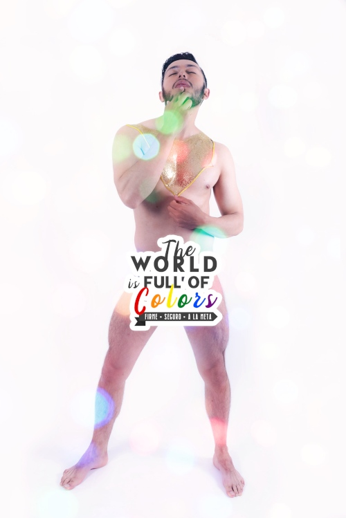 Mr Gay Mexico 2018 Kaleb Omar (Supplied)
