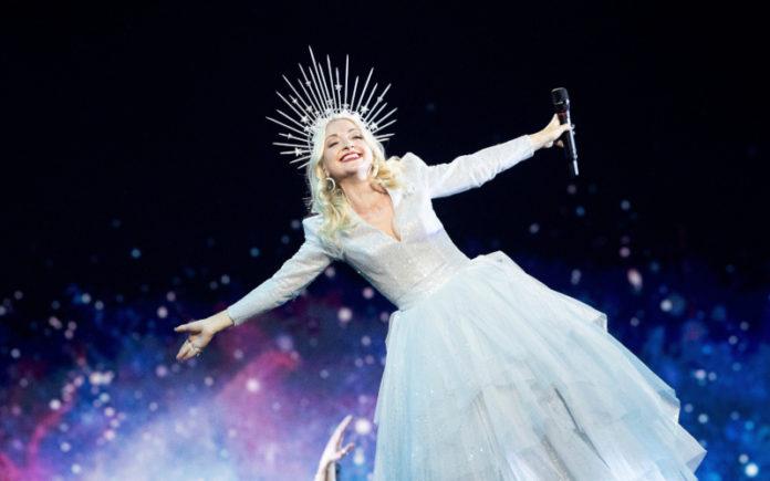 Australia's Eurovision Entrant Kate Miller-Heidke in rehearsals for Eurovision 2019 in Tel Aviv - Photo by: Andres Putting (Supplied)
