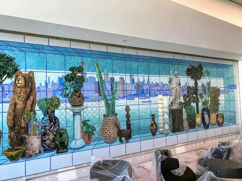 Hyper-Natural Bay Area Mosaic artwork - (Photo - Chris McGinnis/SF Gate)