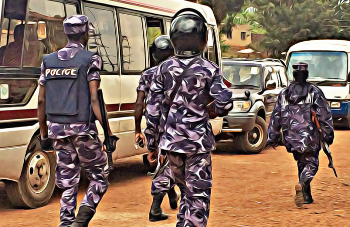 Uganda Police on transgender raids
