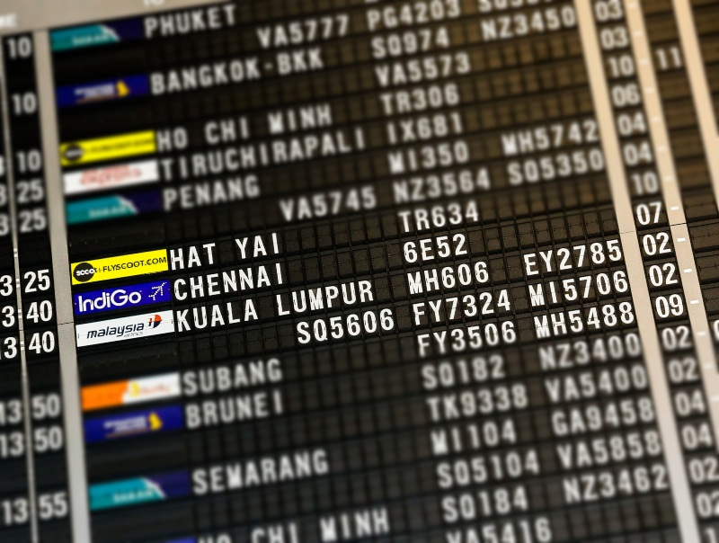 Asia Pacific Airlines schedule