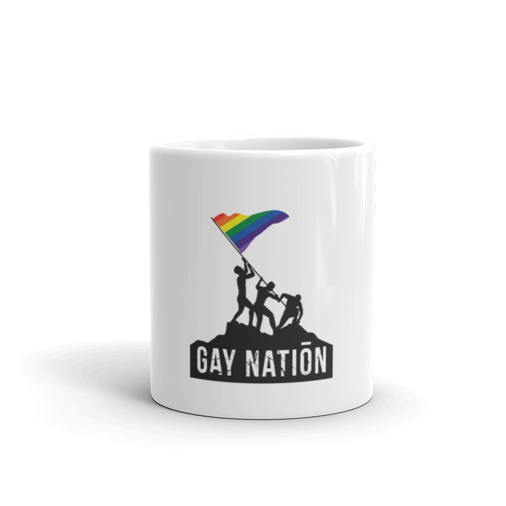 Gay Nation Iconic Mug
