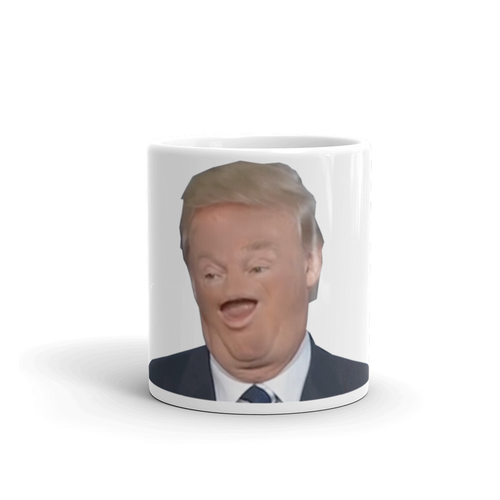 Tiny Face Trump Mug