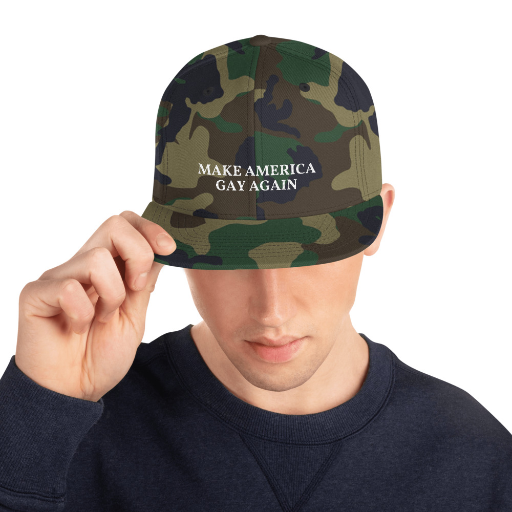 Make America Gay Again Snapback Hat